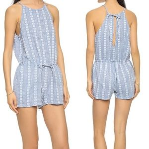 Madewell Seaglow Cover-Up Romper